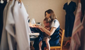 Exciting history of sewing