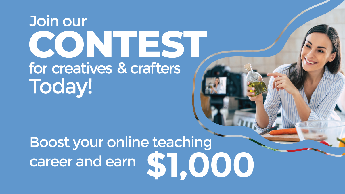 video contest for creatives&crafters